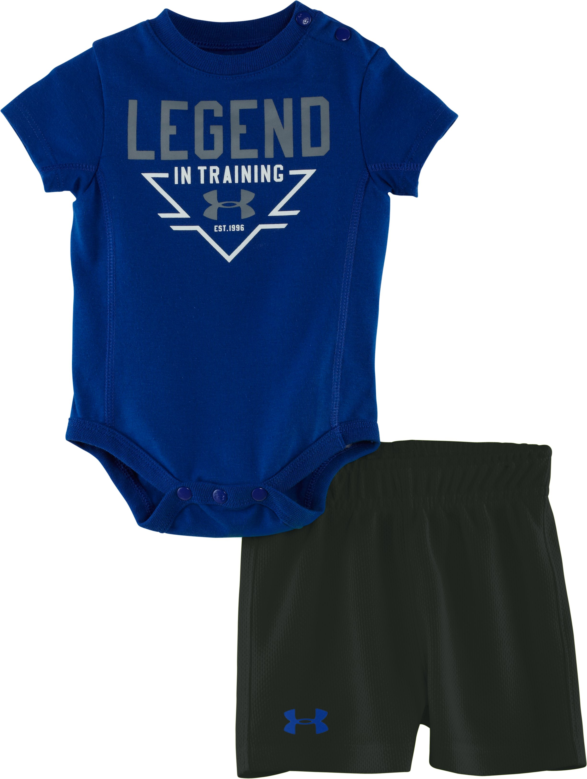 Boys' Newborn UA Legend In Training 2-Piece Set, Royal