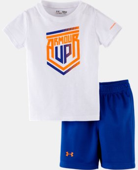 Boys' Infant UA Armour Up® 2-Piece Set