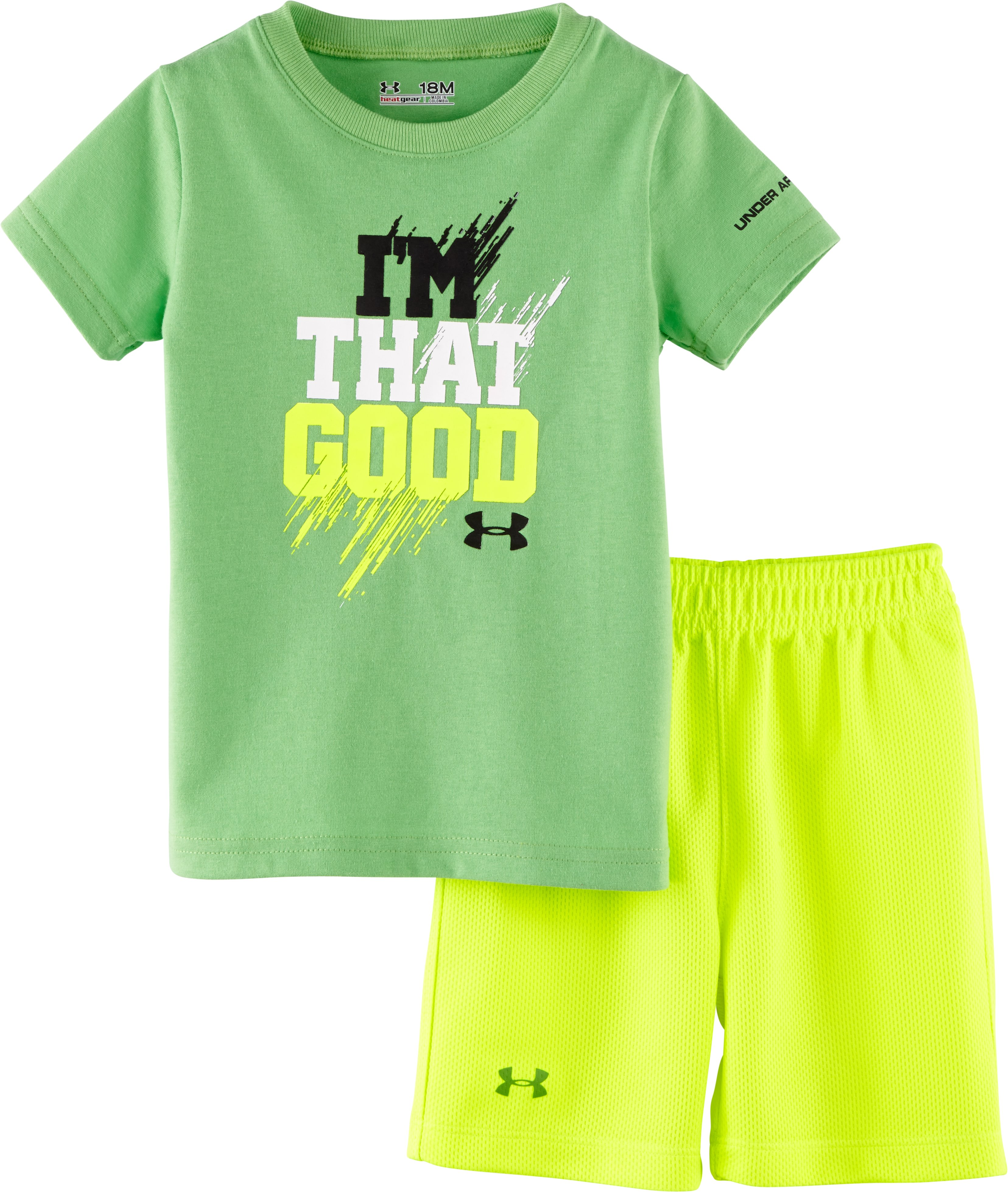 Boys' Infant UA I'm That Good 2-Piece Set, Lizard