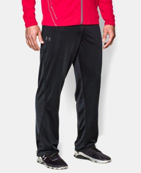 Men's UA Relentless Warm-Up Pants — Straight Leg  2  Colors Available $23.99