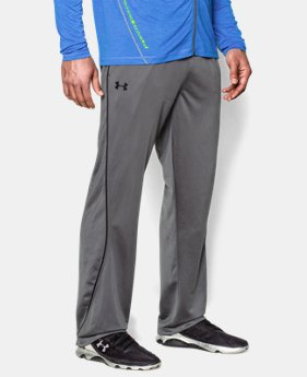 Men's UA Relentless Warm-Up Pants — Straight Leg  1  Color Available $29.99