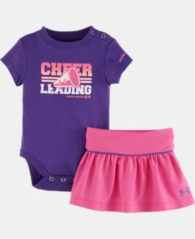 Girls' Newborn UA Cheerleading Set