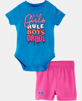 Girls' Newborn UA Girls Rule Set
