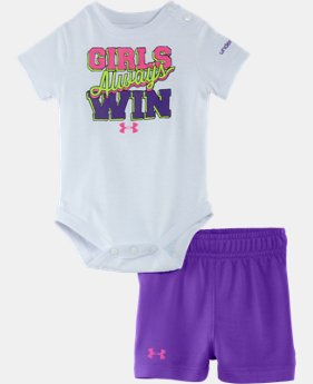 Girls' Newborn UA Girls Always Win Set