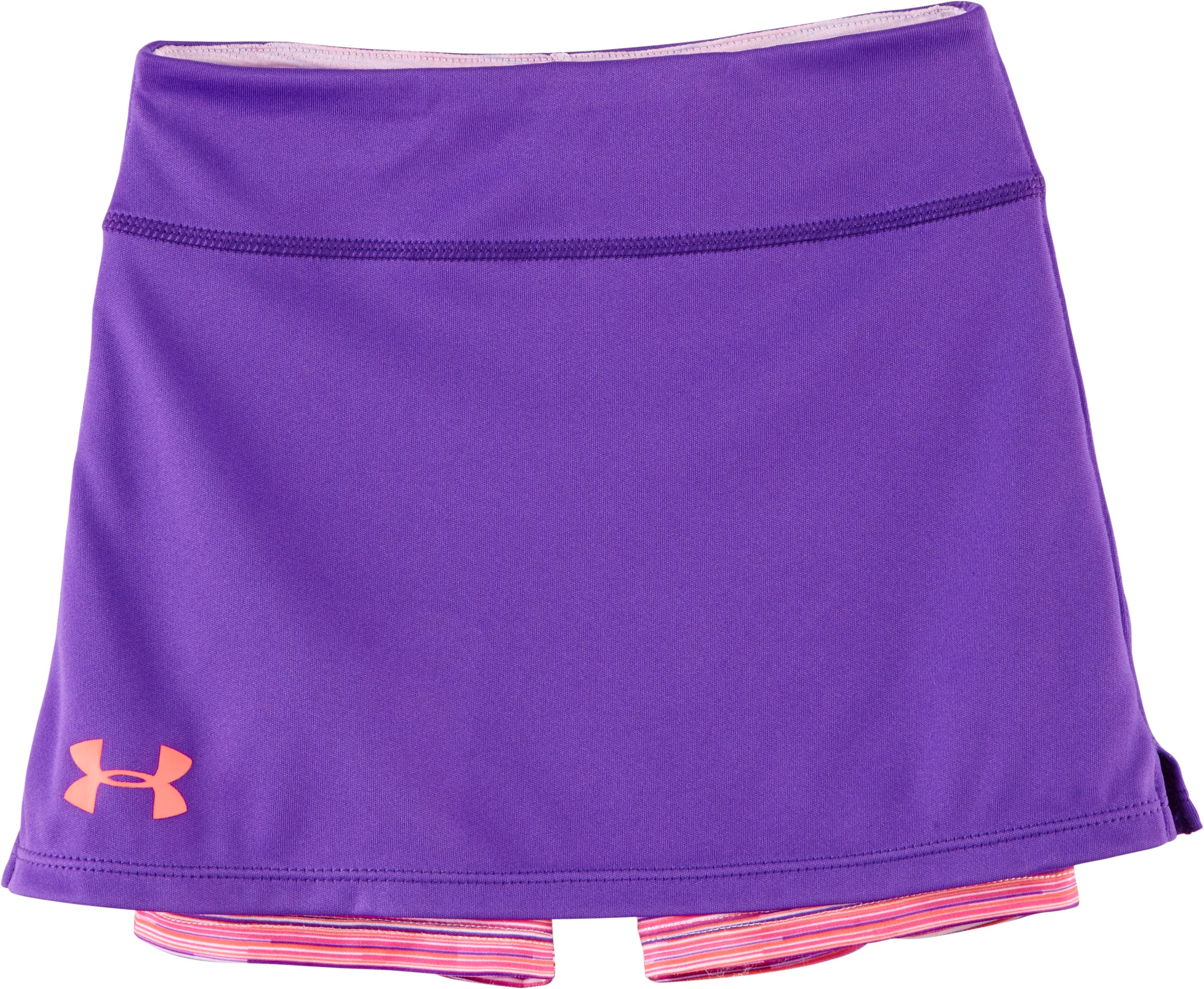 Girls' Pre-School UA Multi Thread Skort, PRIDE, Laydown