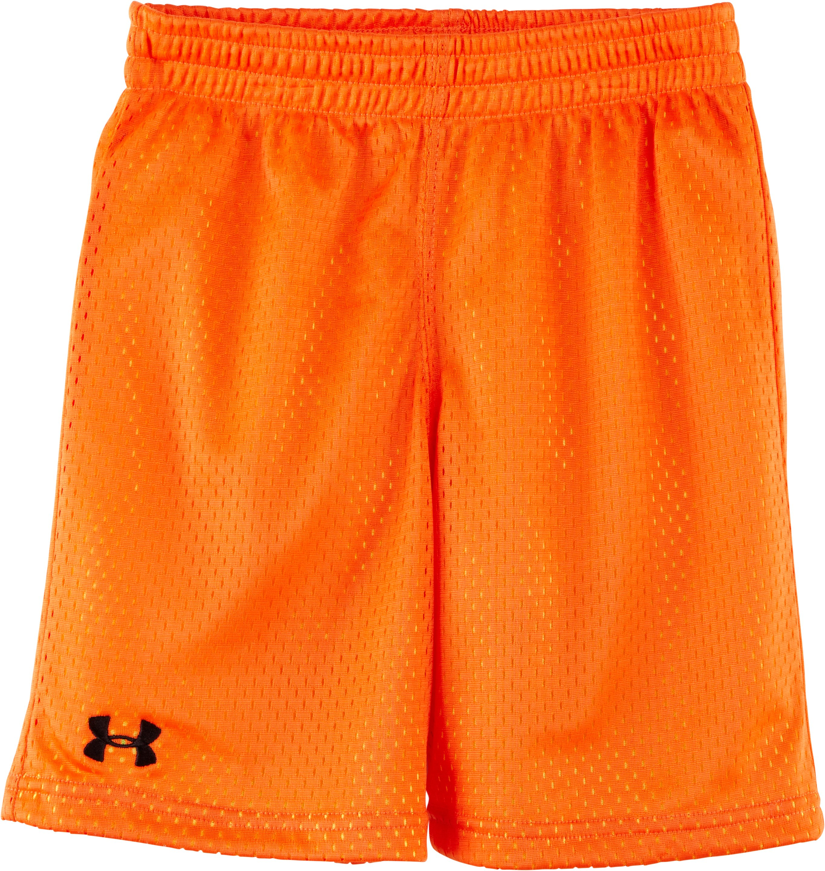 Boys' Pre-School Renegade Mesh Shorts, Flash Light, zoomed image
