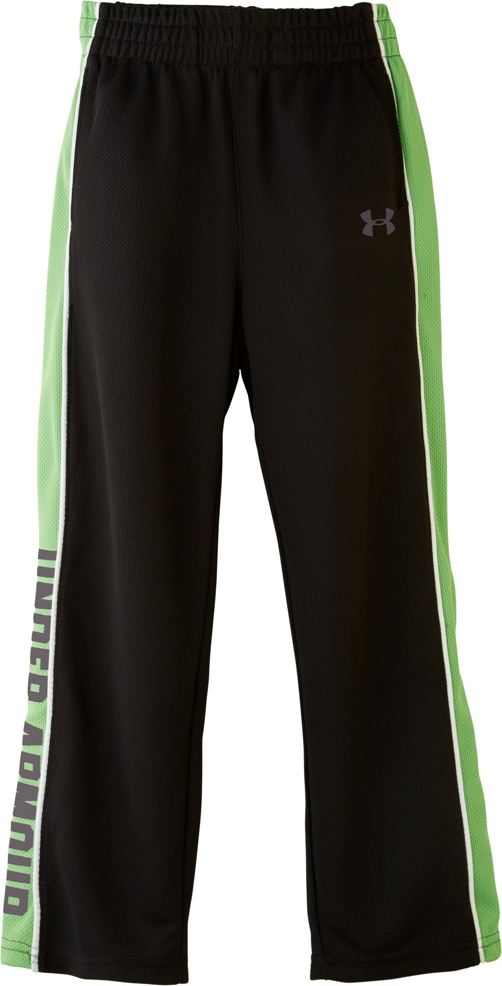 Boys' Pre-School UA Brawler Favella Pants, Black , zoomed image