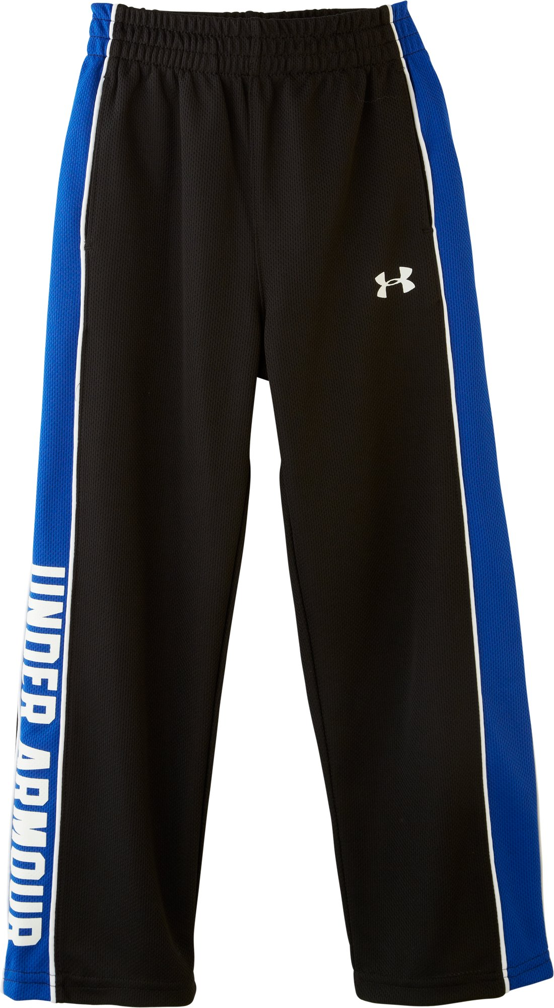 Boys' Pre-School UA Brawler Pants, Black