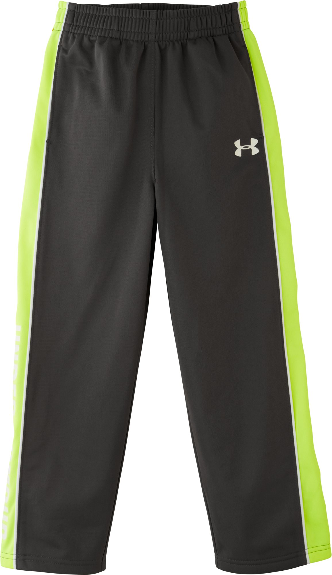 Boys' Pre-School UA Brawler Tricot Pants, Charcoal, zoomed image