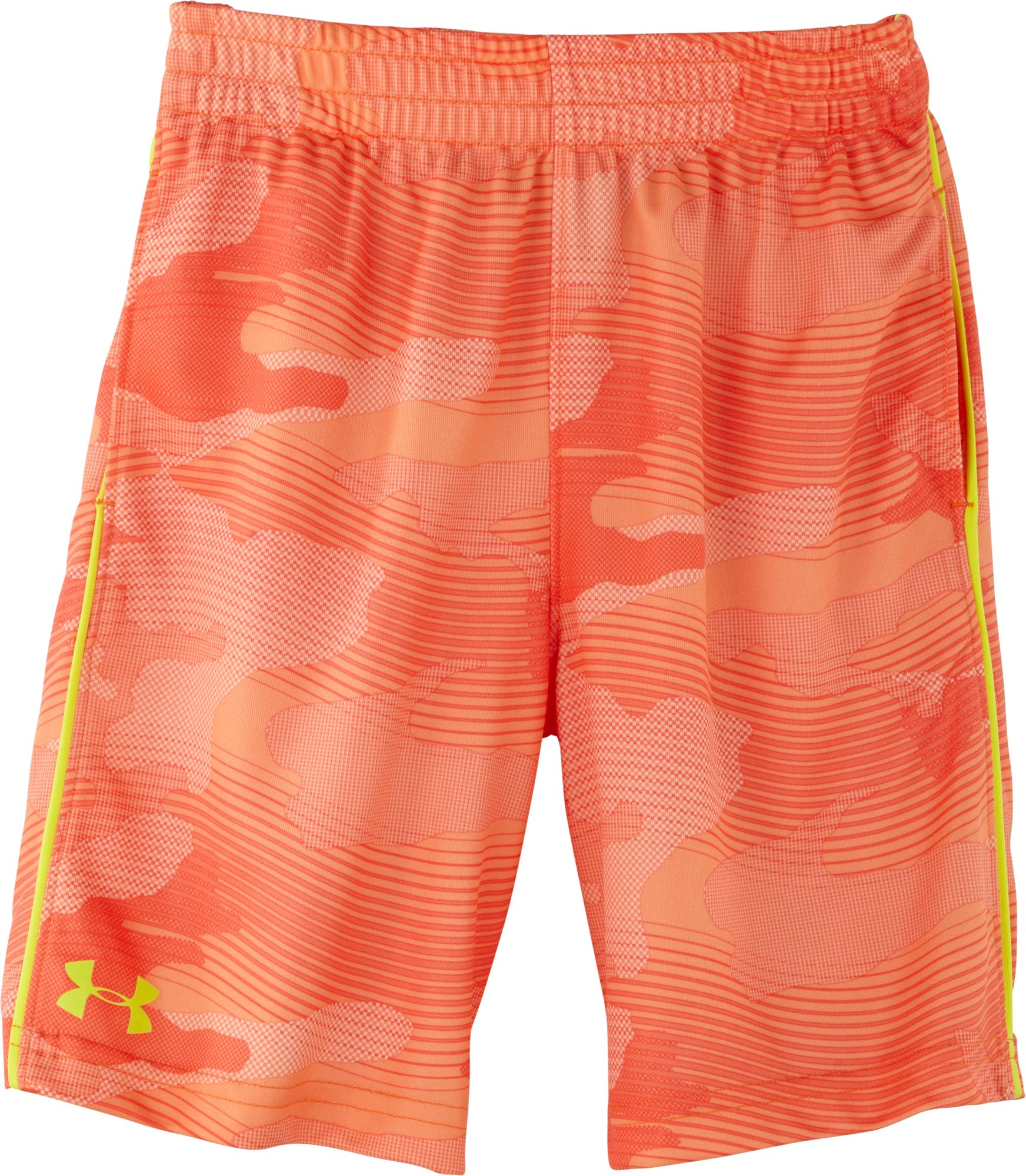 Boys' Infant UA Zinger Camo Shorts, GOLDFISH, Laydown