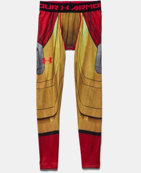 Boys' Under Armour® Alter Ego Iron Man Fitted Leggings