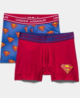 Boys' Under Armour® Alter Ego Superman Boxerjock® 2-Pack