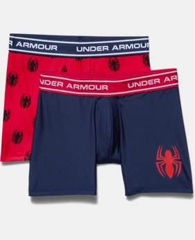 Boys' Under Armour® Alter Ego Spider-Man Boxerjock® 2-Pack