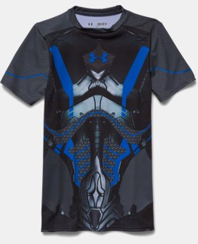 Boys' HeatGear® Armour Future Warrior Fitted Shirt