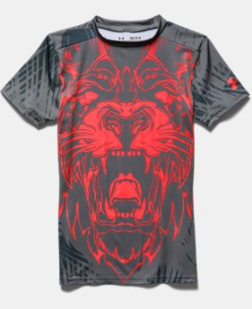 Boys' Under Armour® 100% Beast Lion Fitted Shirt