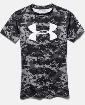 Boys' UA Freedom Camo Fitted Shirt