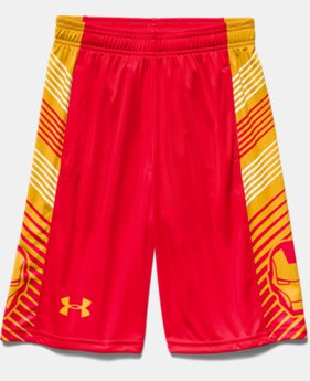 Boys' Under Armour® Alter Ego Iron Man Shorts