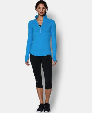 Women's UA Fly Fast 1/2 Zip LIMITED TIME: FREE U.S. SHIPPING 1 Color $41.99 to $52.99