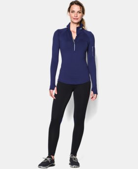 Women's UA Fly Fast ½ Zip  1 Color $51.99