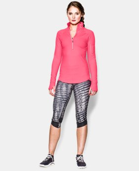 Women's UA Fly Fast ½ Zip  4 Colors $41.99 to $51.99