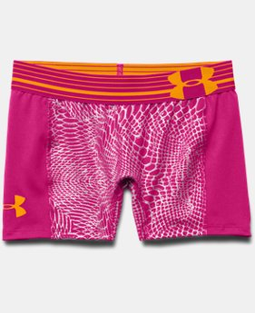 "Girls' UA HeatGear® Armour 3"" Short"