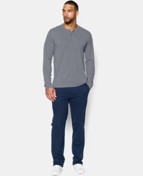 Men's UA Performance Henley Long Sleeve Shirt