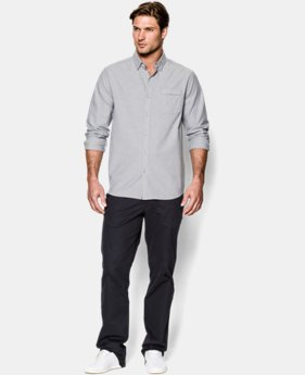New Arrival  Men's UA Performance Oxford Shirt LIMITED TIME: FREE SHIPPING 3 Colors $89.99