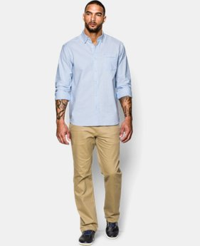 New Arrival  Men's UA Performance Oxford Shirt LIMITED TIME: FREE SHIPPING  $89.99