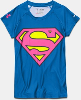 Girls' Under Armour® Supergirl T-Shirt