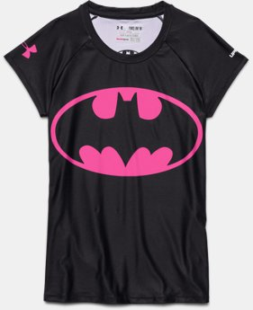 Girls' Under Armour® Alter Ego HeatGear® Sonic Batgirl T-Shirt