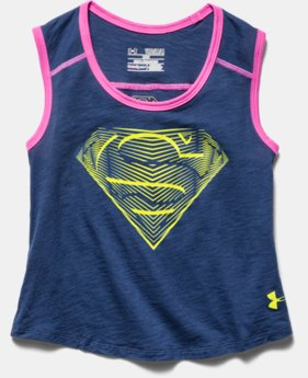 Girls' Under Armour® Alter Ego Supergirl Muscle Tank