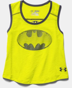 Girls' Under Armour® Alter Ego Batgirl Muscle Tank