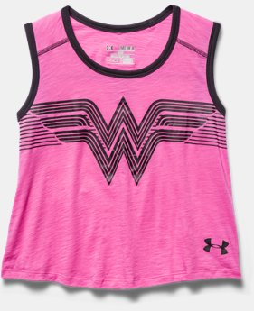 Girls' Under Armour® Alter Ego Wonder Woman Muscle Tank