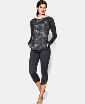 Women's UA Take-A-Chance Printed Crew  1 Color $44.99