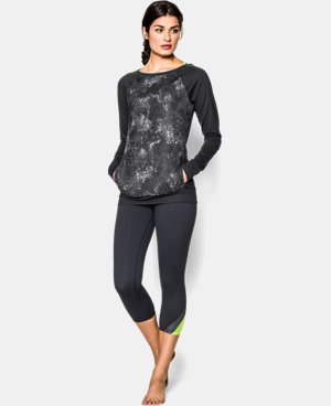 Women's UA Take-A-Chance Printed Crew LIMITED TIME: FREE U.S. SHIPPING  $44.99