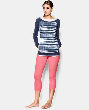 Women's UA Take-A-Chance Printed Crew LIMITED TIME: FREE U.S. SHIPPING 1 Color $44.99 to $55.99