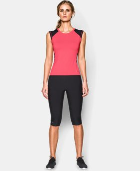 Women's UA HeatGear® Armour Crop T