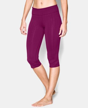 Women's UA Studio City Hopper Printed Capri  1 Color $38.99