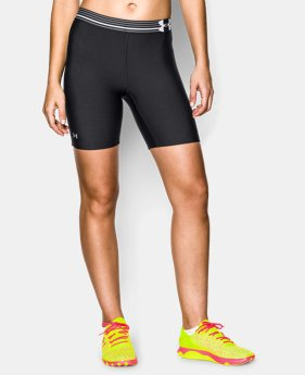 "Women's UA HeatGear® Armour 7"" Short LIMITED TIME: FREE U.S. SHIPPING 1 Color $17.99"