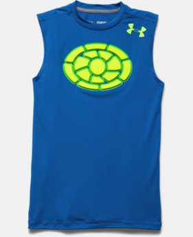 Boys' Gameday Armour® Chest Sleeveless T-Shirt