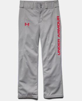 Boys' UA Undeniable Script Baseball Pants LIMITED TIME: FREE U.S. SHIPPING 1 Color $17.24