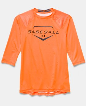 Boys' UA Diamond Armour ¾ Sleeve
