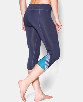 "Women's UA Take-A-Chance Printed 20"" Capri LIMITED TIME: FREE U.S. SHIPPING  $36.74 to $38.99"
