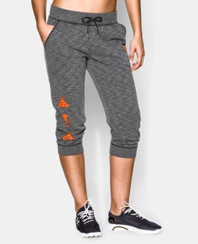 Women's Tough Mudder UA French Terry Capri  LIMITED TIME: FREE U.S. SHIPPING 1 Color $40.99