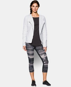 Women's UA Studio Terry Moto Jacket