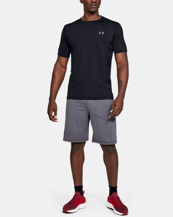 Men's UA Raid Short Sleeve T-Shirt, Black, pdpMainDesktop image number 3
