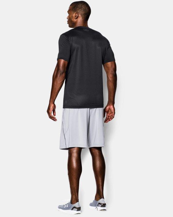 Men's UA Raid Short Sleeve T-Shirt, Black, pdpMainDesktop image number 1