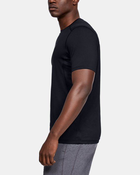Men's UA Raid Short Sleeve T-Shirt, Black, pdpMainDesktop image number 5