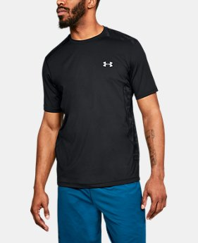 Best Seller Men's UA Raid Short Sleeve T-Shirt  1  Color Available $17.99 to $22.49