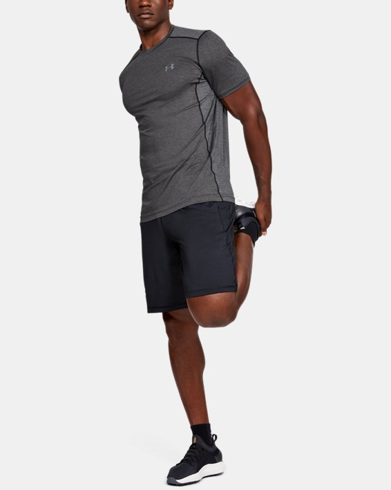 Men's UA Raid Short Sleeve T-Shirt, Gray, pdpMainDesktop image number 3